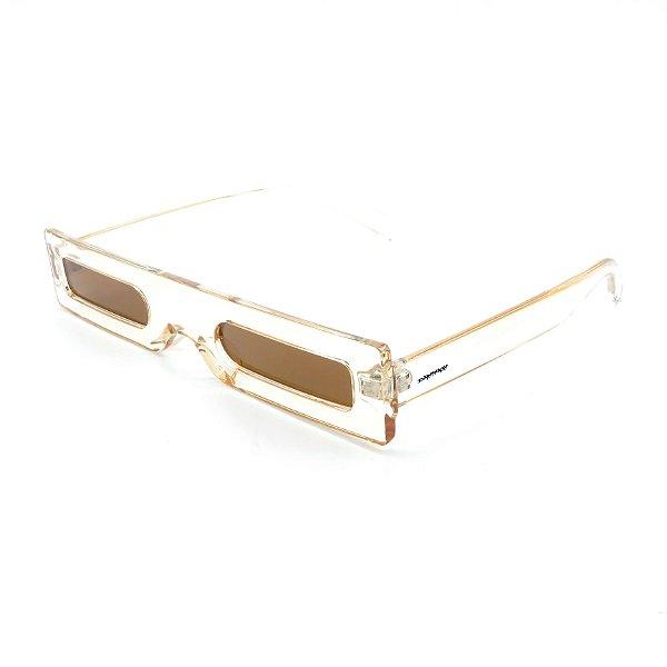 Óculos Solar Dark Face Translúcido Trap - 18104COL2