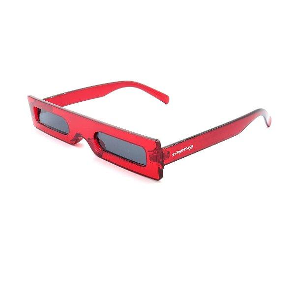 Óculos Solar Dark Face Vermelho Translúcido - 18104COL5