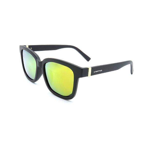 Óculos Solar Dark Face Preto com lente espelhada - D2607
