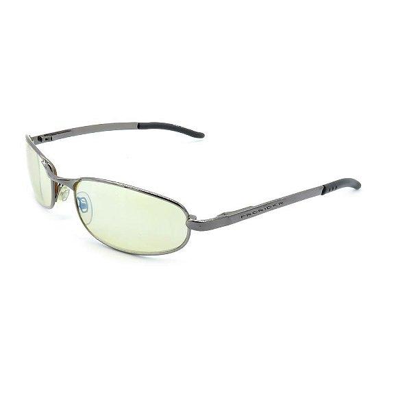 Óculos de Sol Retro Prorider Grafite com Lente Verde - ES4016