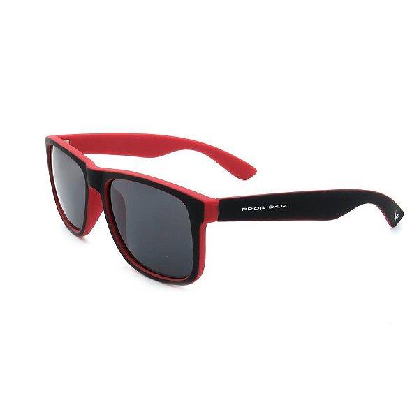 Óculos de Sol Prorider Preto e Vermelho Fosco - Z4165-2