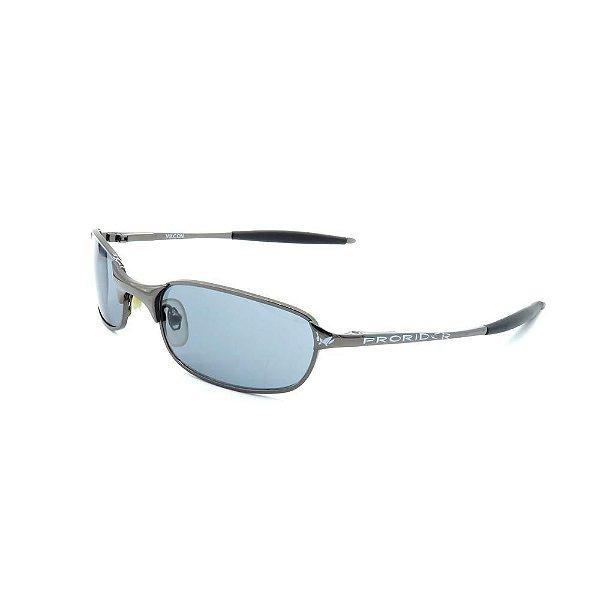 Óculos de Sol Retro Prorider Prata com Lente Fumê - VULCON