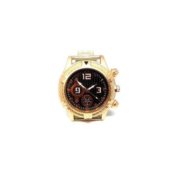 Relógio Dark Face Retro Bronze - RLRD2020-3