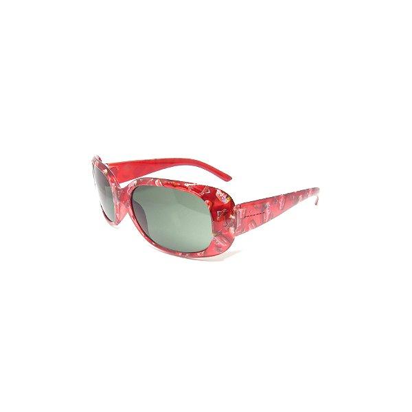 Óculos de Sol Prorider Infantil Vermelho com Carinhos - REMK
