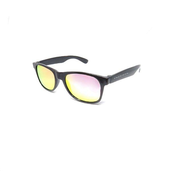Óculos de Sol Prorider Infantil Preto com Lente Espelhada - 2020-2