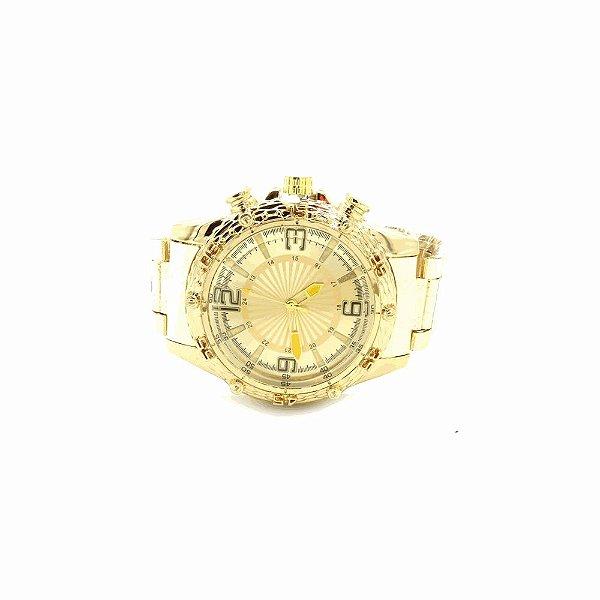 Relógio Dark Face Retro Dourado - RLRDOU3L