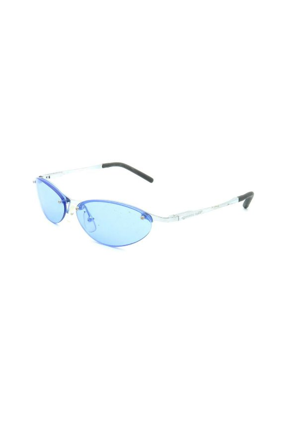 Óculos de Sol Prorider Prata com lente azul - w1