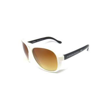 Óculos de Sol Prorider Retro Branco com Lente marrom- UTANOSANA