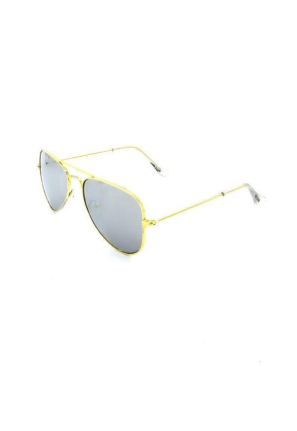 Óculos de Sol Prorider Infantil Dourado com lente prata- XX8618 C5