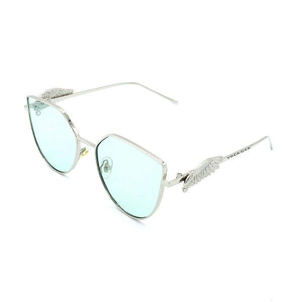 Óculos de Sol Prorider Prata com Detalhes -  8277