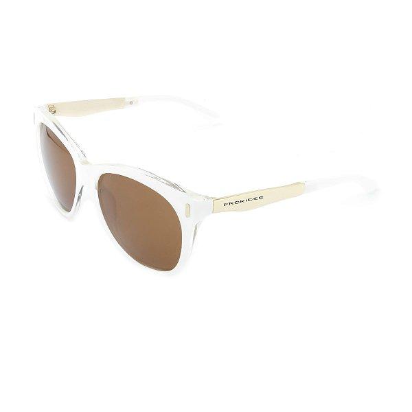 Óculos de Sol Prorider Translúcido com Dourado -  2827C3