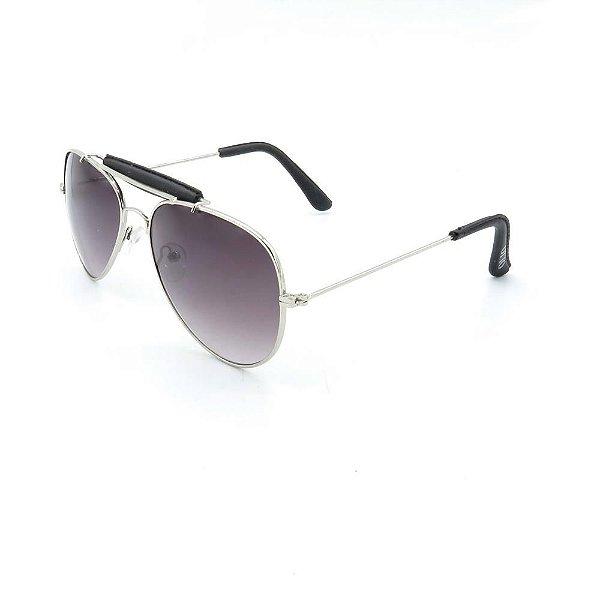 Óculos de Sol Prorider Otto Prata com Lente Degrade - JW2117