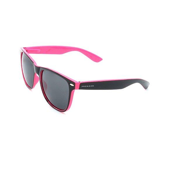 Óculos Solar Prorider Rosa e Preto Com Lente Fumê - XM2049