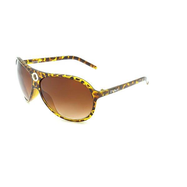 Óculos Solar Prorider Retrô Marrom e Amarelo Com Lente Marrom - GREGO192