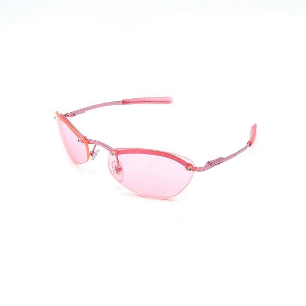 Óculos Solar Prorider Retrô Rosa Com Lente Rosa - IDA2476