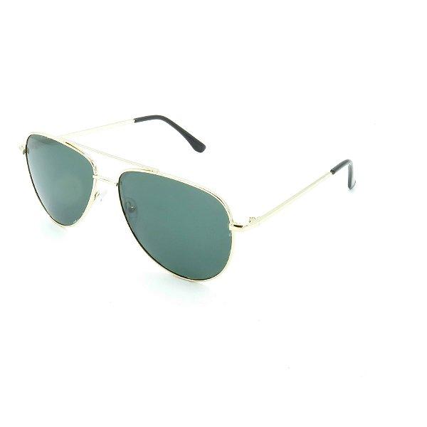 Óculos de Sol Prorider Dourado Brilhante com Lente  Verde - H7530-BC1