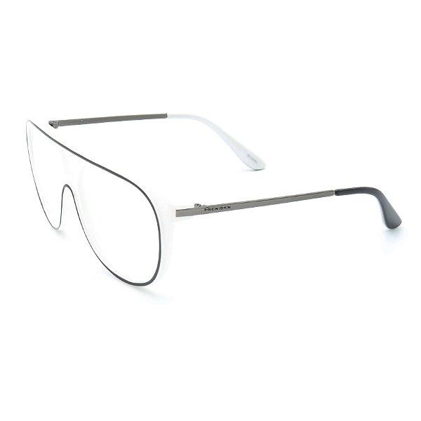 Óculos Receituário Prorider Preto e Branco com Lentes de Apresentação - RM0100C56