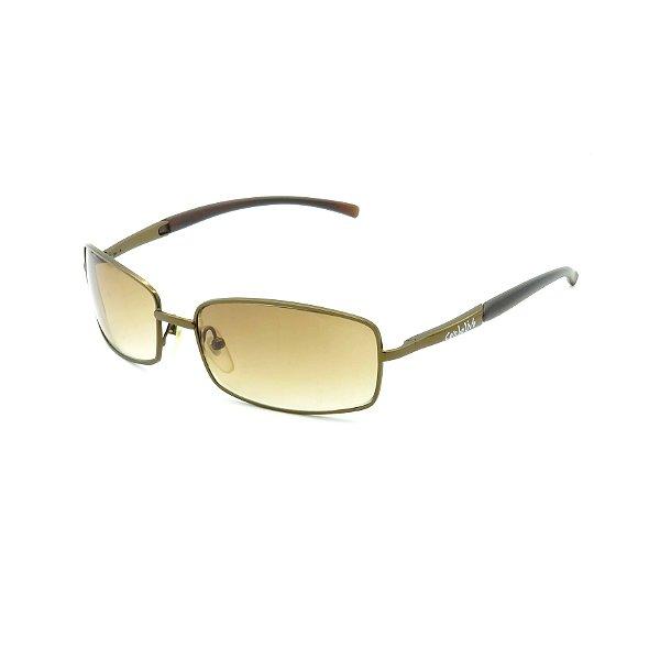 Óculos de Sol Prorider Retrô Marrom Brilhante com Lente Degradê Marrom - OEM3025