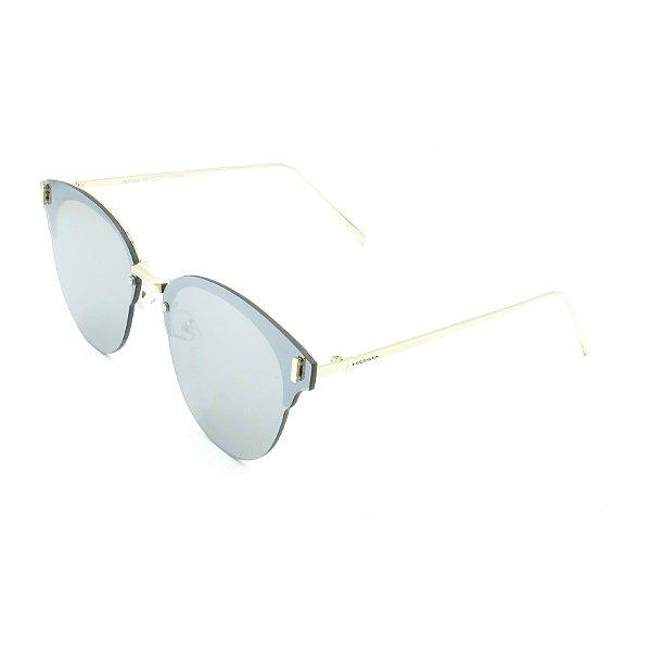 Óculos de Sol Prorider Dourado Com Lente Fumê - H01658C8