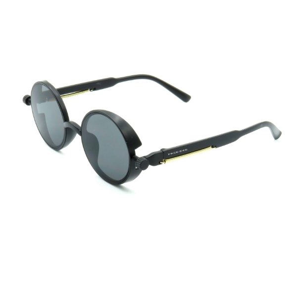 Óculos de Sol Prorider Preto Detalhado com Lente Fumê - DNEB1546