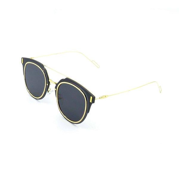Óculos de Sol Prorider Ouro  com Lente Fumê - KD7034C5