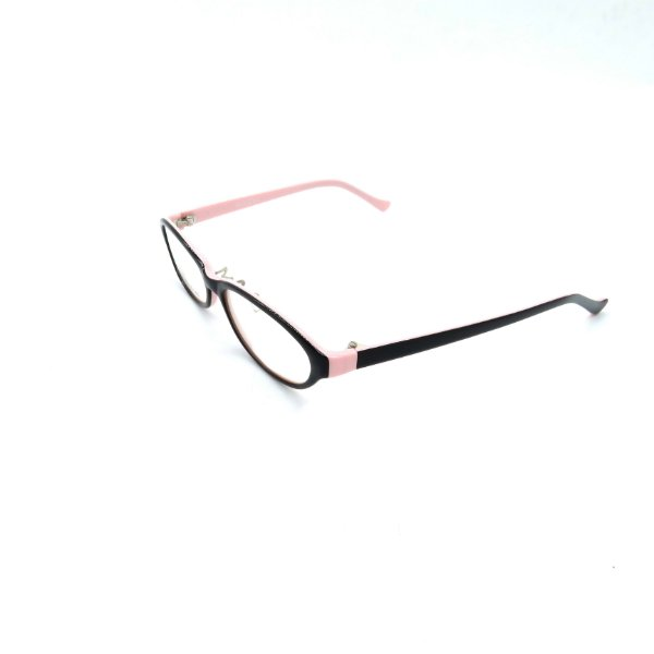 Óculos Receituário Prorider Retrô Preto e Rosa Com Lente de Apresentação - SX9025-49