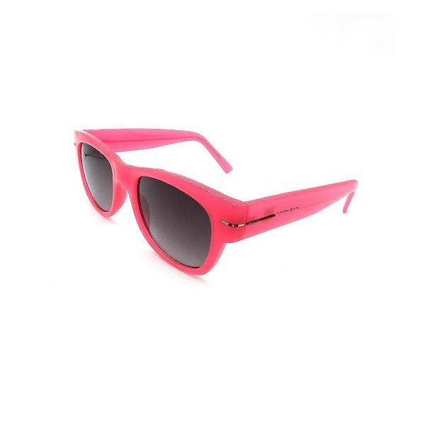 Óculos de Sol Prorider Retrô Rosa com Lente Degradê Fumê - GAPU-50