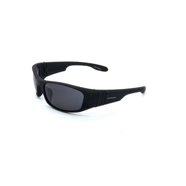 Óculos De Sol Prorider Retrô Preto com Lente Fumê - SP56695