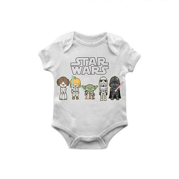 Body bebê star wars personagens