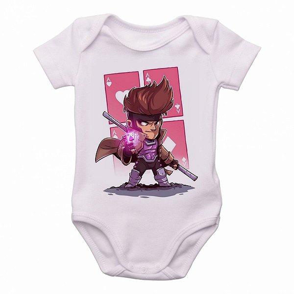Body Bebê Roupa Infantil Criança mini Gambit x men