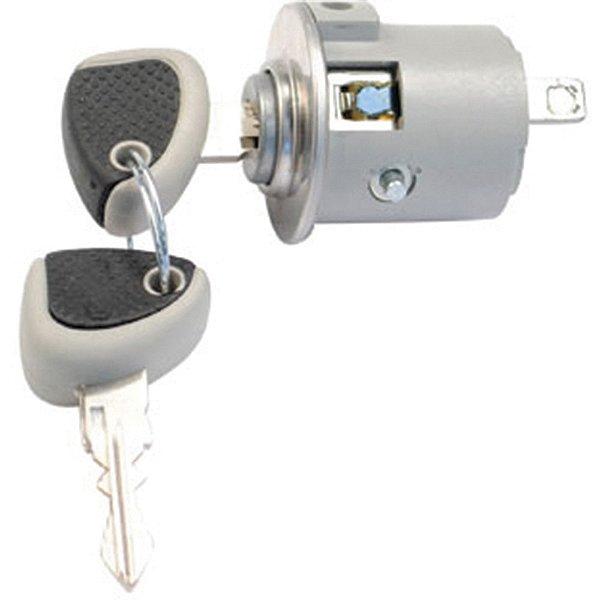 Cilindro de ignição da Coluna da direção - C/chave Iveco Cavallino Cursor Eurocargo Eurotech Power Star Stralis Tector Trakker