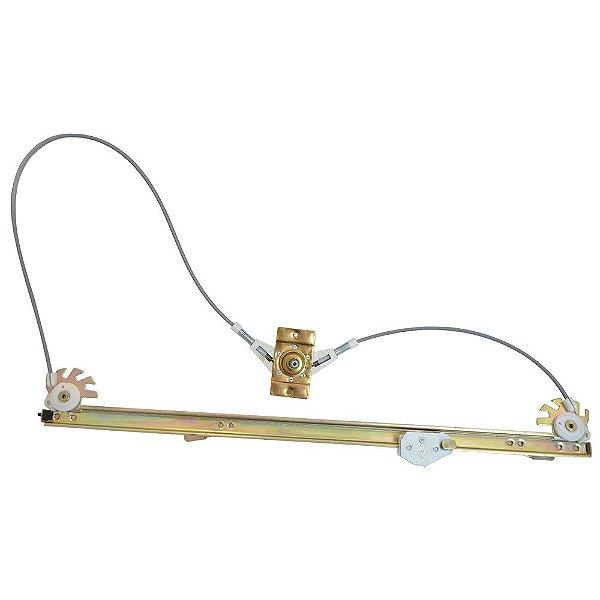 Máquina do vidro - Manual - Opcional - Lado Motorista 93941271 Iveco Daily