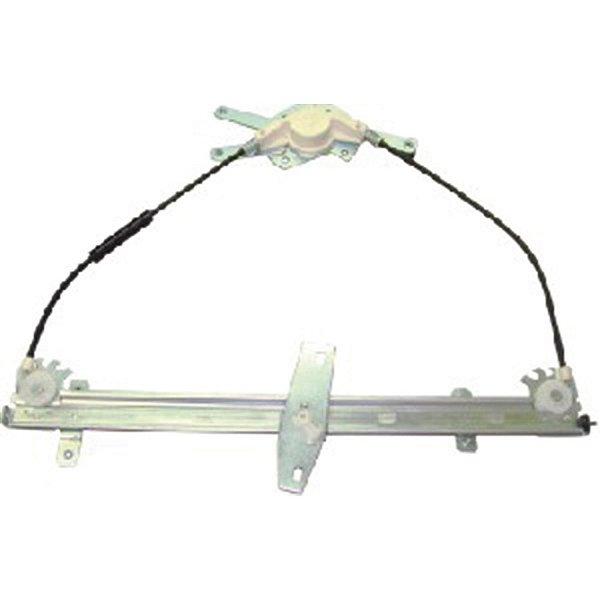 Máquina Vidro Elétrica Porta Dianteira - LE Motorista - S/ Motor - VW Delivery Worker - Fixação Mabuchi