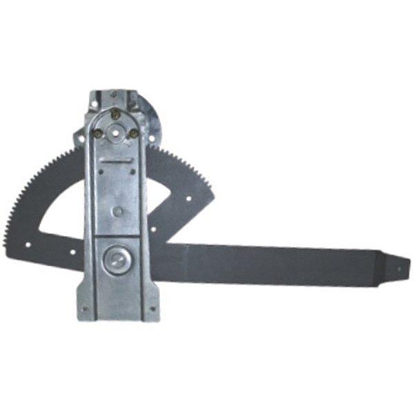 Máquina Vidro Elétrica Porta Dianteira - LE Motorista  - S/ Motor - Ford F1000 F12000 F12000L F14000 HD Sapão - Fixação Mabuchi