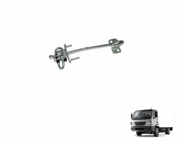 Limitador Porta - LD Passageiro - Caminhão Mb Accelo 715c 915c 1016 - 9797207116