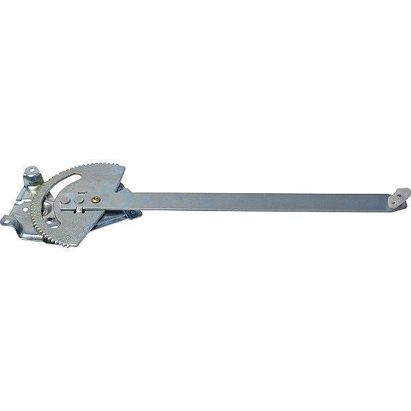 Máquina Vidro Elétrica Porta Dianteira - LD Passageiro s/ Motor - MB Atron FPN cabine avançada HPN Bicudo HPN cara chata quadrada após 2000 - Fixação Bosch 10 dentes