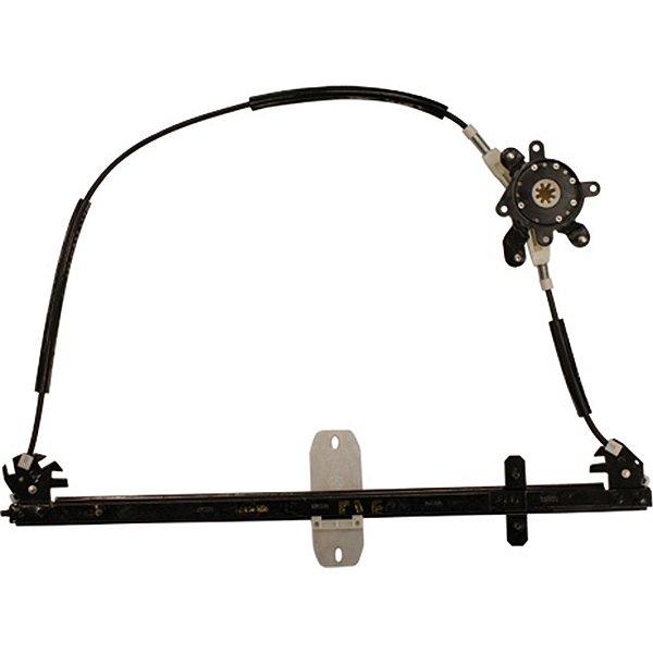 Máquina Vidro Elétrica Porta Dianteira - LE Motorista  - s/ Motor - Iveco Cursor Stralis Tector - Fixação Original
