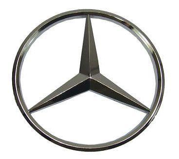 Emblema Logo Estrela Grade Caminhão Mb L709 912 608 c/ 20cm