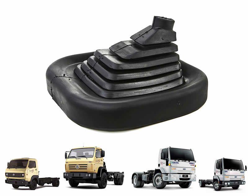 Guarda Pó Coifa Alavanca Cambio Caminhão VW e Ford Cargo TJG711116