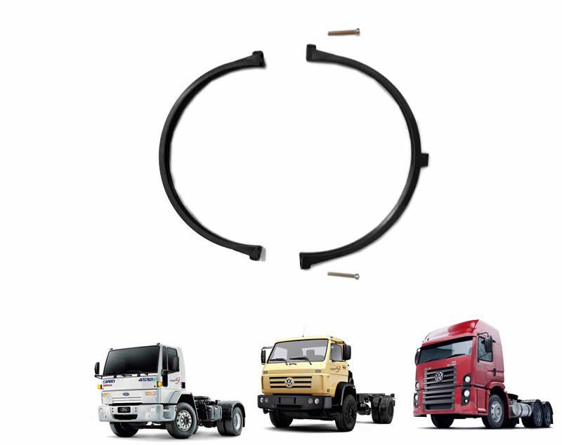 Abraçadeira Tampa Filtro Ar Caminhão VW Worker e Constellation Ford Cargo