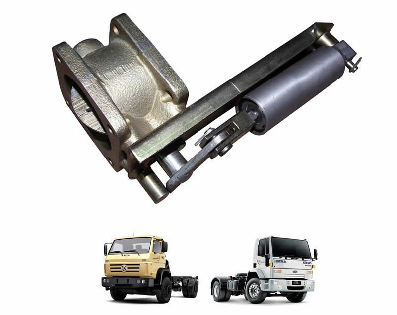 Freio Motor Completo - 3,5 Polegadas - 85mm - Caminhão VW e Ford Cargo Médio