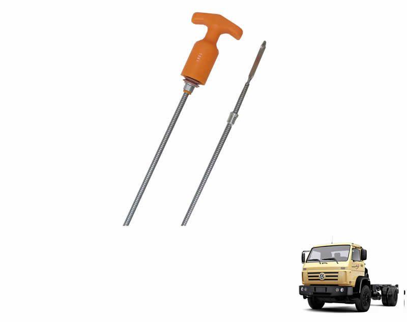 Vareta Nível Óleo Motor - 1406mm - Caminhão VW 14200 14150 15180 17210 23210 MWM X10