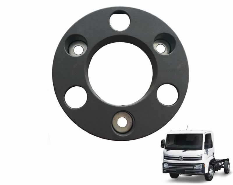 Calota Roda Dianteira 06 Furos Cinza Escuro Caminhão Vw Delivery Express 2VB601151