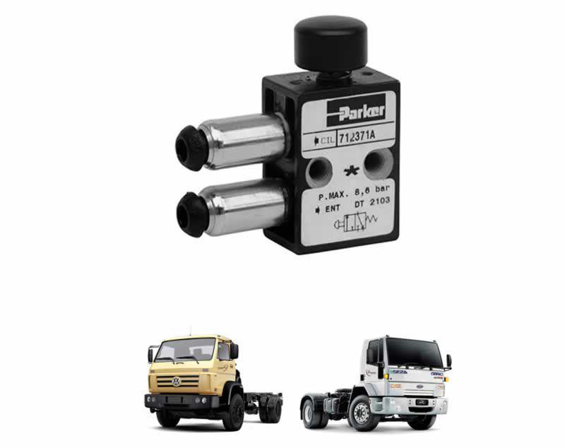 Botão Interruptor Reduzida Caminhão VW Ford Cargo Cambio Eaton RT TJG311739A 3001641