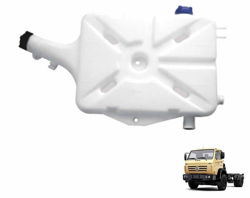 Reservatório Água Radiador S/ Tampa Caminhão VW Worker a partir de 2000 12140 17220 23220 18310 15180 2S0121405C