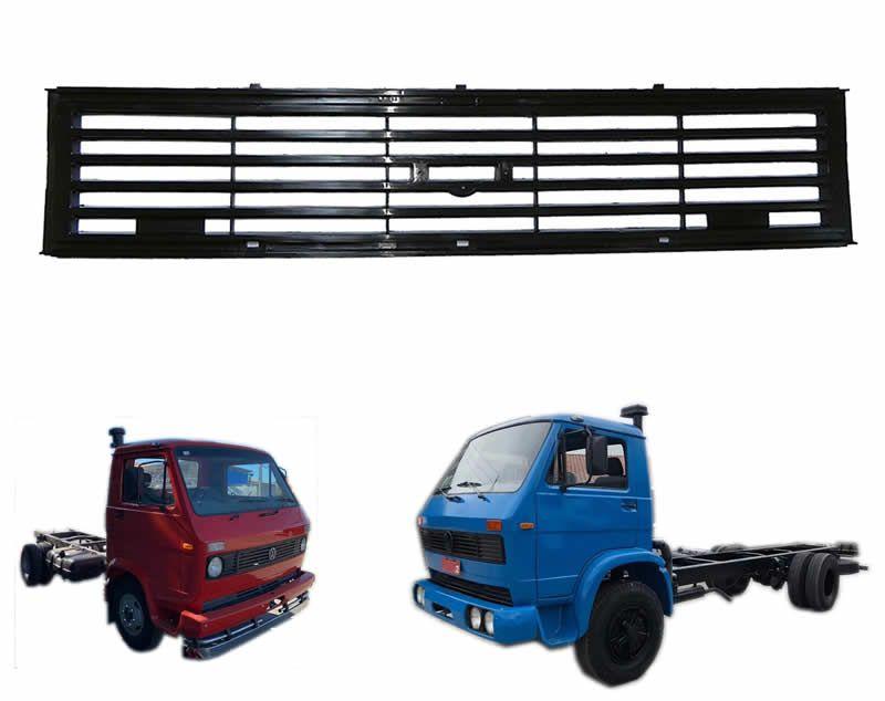 Moldura Central Painel Grade - Caminhão Vw 680 690 790s 7110s 11130 13130 11140 14140 14210 16210 12140H T00853653B
