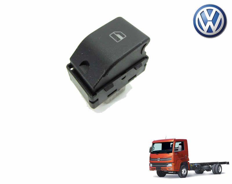 Botão Tecla Acionadora Levantar Vidro Elétrico Simples - LD Passageiro - VW Delivery Express 6160 9170 11180