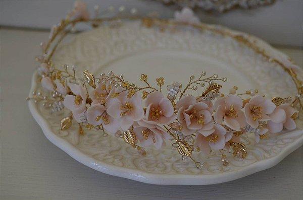 Headband Enchanted rosee