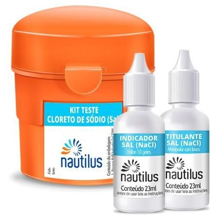 Kit Teste Cloreto de Sódio - Nautilus