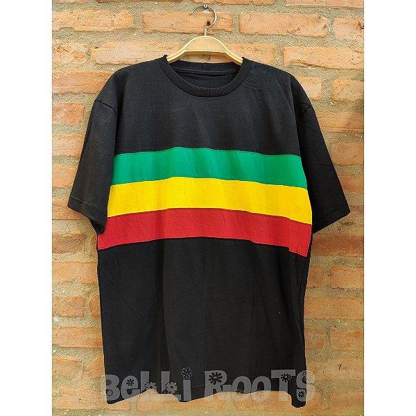 Camiseta Faixa Reggae